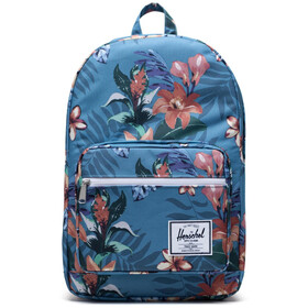 Herschel Pop Quiz Mochila, summer floral heaven blue